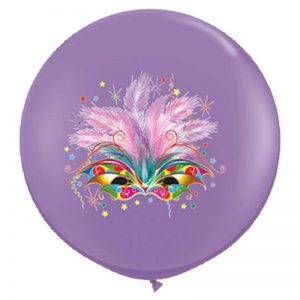 I3' 10015 Masque Carnaval Lilac 2 Faces - HELIUM *1b