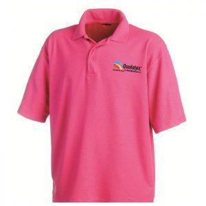 Qualatex Wild Berry Polo Teeshirt taille M