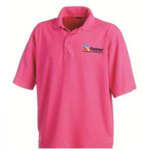 Qualatex Wild Berry Polo Teeshirt taille XL