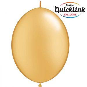 6 Quick Link Métal Gold/Or* 50b
