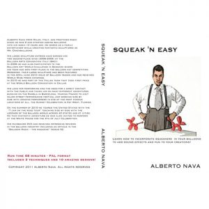 DVD Alberto Nava – SQUEAK'N EASY