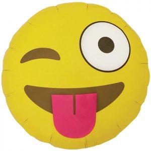 """Emoji Winking 18"""" D2-01"""