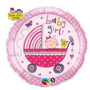 M18 Baby Girl Stroller Licence Rachel Ellen