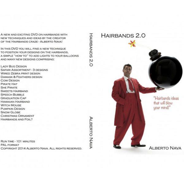 DVD Alberto Nava – HAIRBANDS 2.0