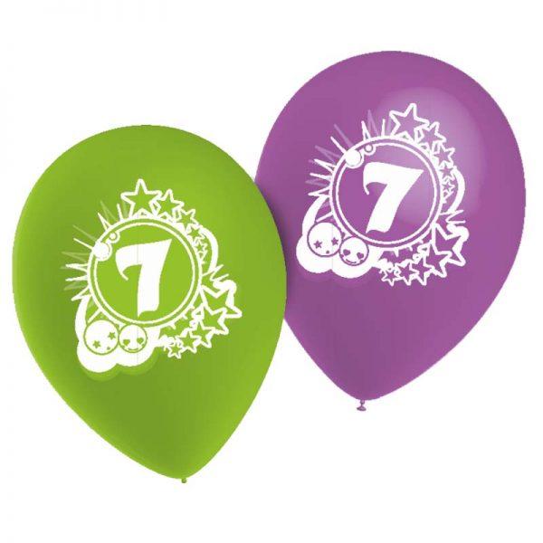 Ballons Chiffre 7 *10