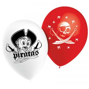 "11"" Pirates Blanc et Rouge *10b"