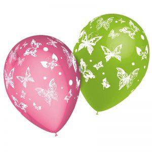Ballons Papillon *8