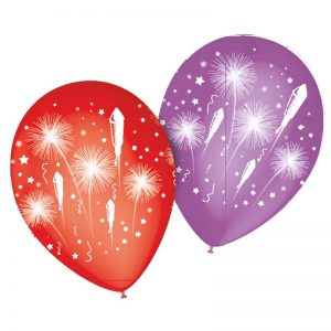 Ballons Feu d'artifice*8