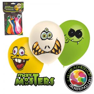 Ballons Stikymonsters *8