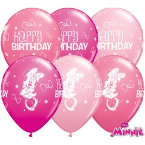 I11 18686 Minnie Mouse Birthday Asst *25b