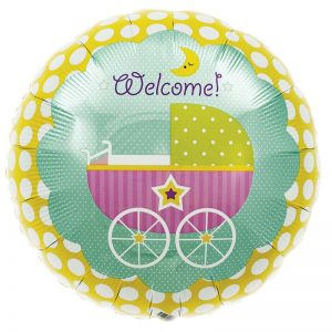 "Welcome baby buggy 18"" D2-01"