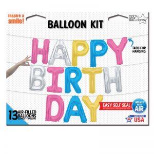 KIT HAPPY BIRTHDAY AST 16'' F3-01