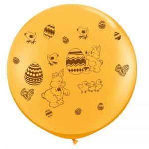 I3' 10017 Oeufs de Pâques Goldenrod Impression Chocolat *1b
