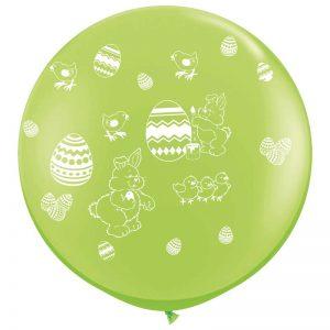 I3' 10017 Oeufs de Pâques Lime Green *1b