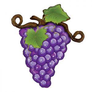 Ballon Aluminium 31″ Linky Grapes Violette – Grabo