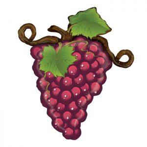 Ballon Aluminium 31″ Linky Grapes Rouge – Grabo