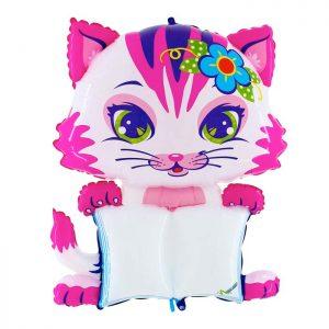 Ballon Aluminium 54″ B-Pad Pretty Cat – Grabo
