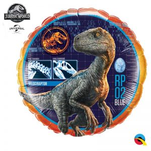 "Ballon Aluminium 18"" - Jurassic World 18"" - Qualatex"