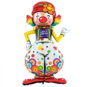 Ballon Aluminium 5′ Maxi Loons Party Clown – Grabo