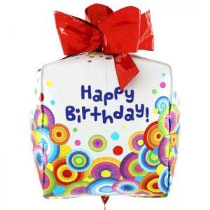 Ballon Aluminium 30″ 4D Party Present – Grabo