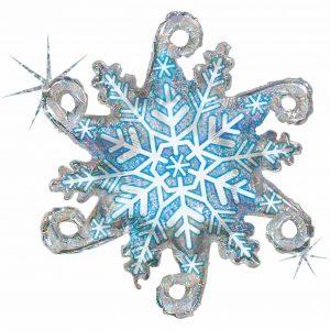 Ballon Aluminium 38″ Linky Snowflake – Grabo