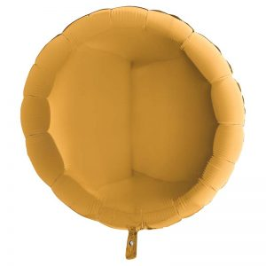 Ballon Aluminium 18″ Rond Or – Grabo