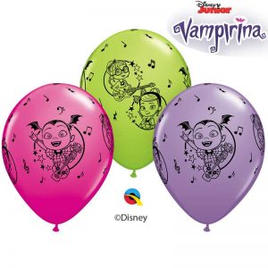 "Ballons Latex 11"" Vampirina"