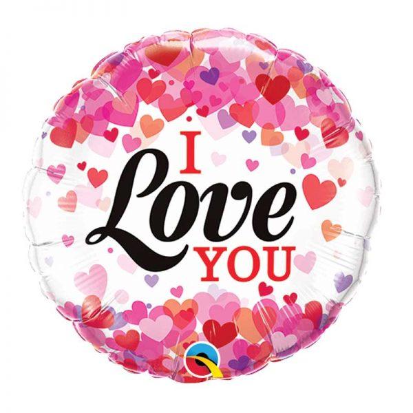 I Love You Confetti