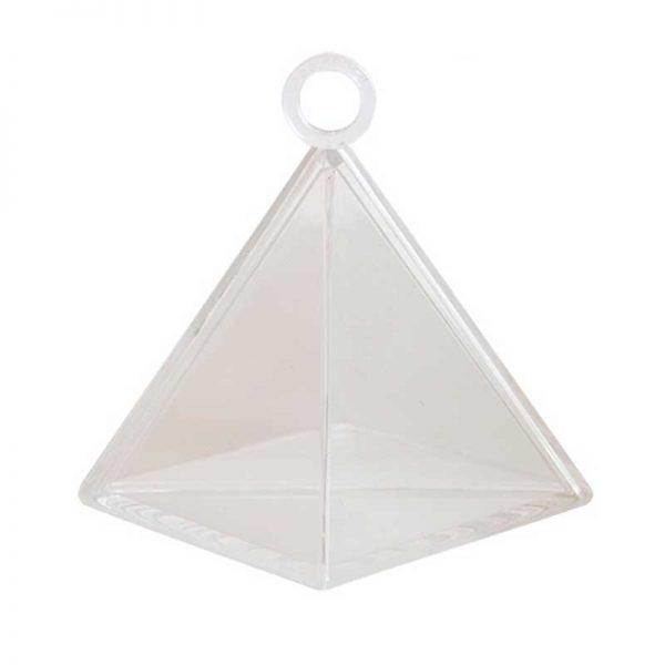 Poids Pyramide Transparent