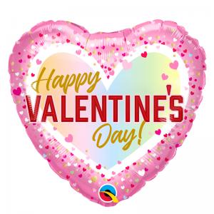 Valentines Confetti Ombre