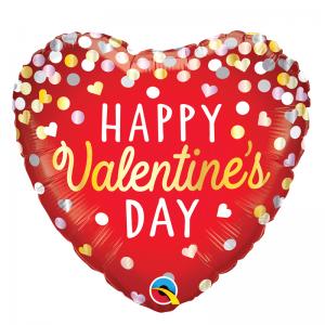 Valentines Confetti Red