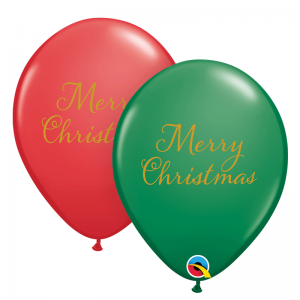 Merry Christmas Green & Red