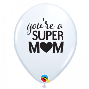 Simply Super MoM White