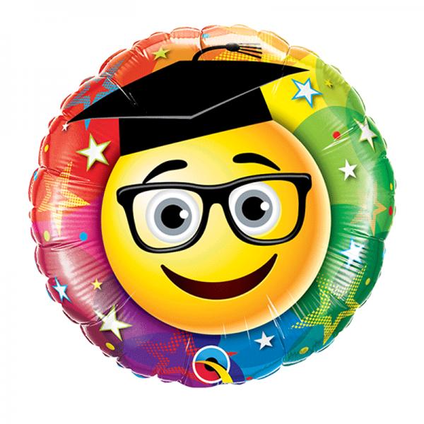 "9"" Smiley Graduate"