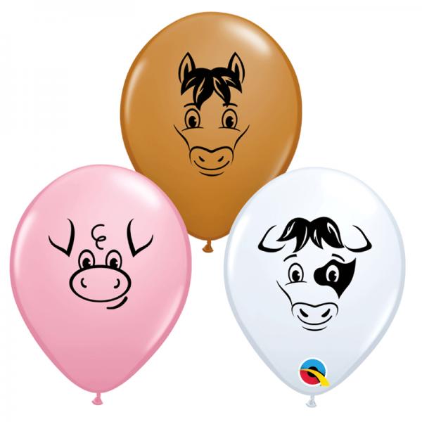 """5"""" Farm Animal Face"""
