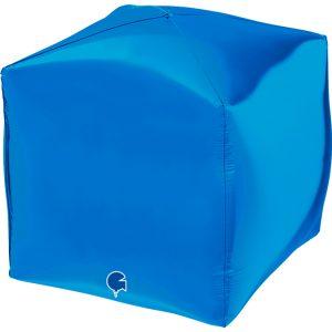 """Square 15"""" Bleu"""