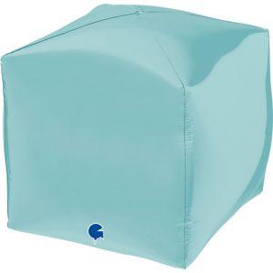 """Square 15"""" Pastel Bleu"""