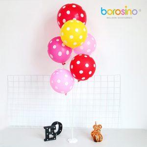 Tiges pour bouquet de ballons et Base