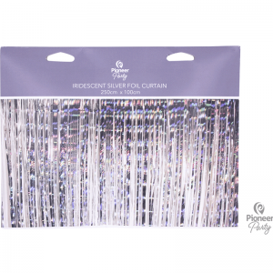 Foil Curtain Iridescent
