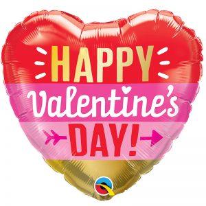 Valentine's Day Arrow Stripes