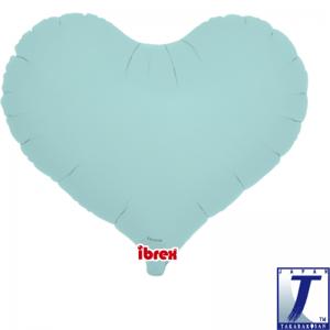"Jelly Heart 14"" Pastel Blue"
