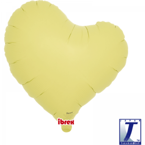 "Sweet Heart 14"" Pastel Yellow"