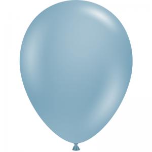 """50 Ballons 5"""" Blue Slate"""