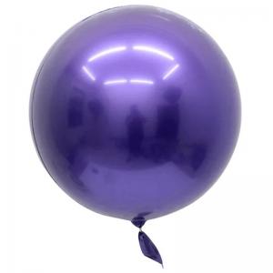 """Bobo Ballon 32"""" Chrome Violet"""