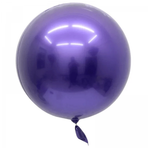 "Bobo Ballon 22"" Chrome Violet"