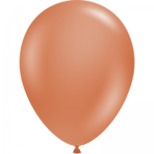 "50 Ballons 5"" Burnt Orange"