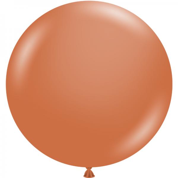 """Ballon 17"""" Burnt Orange"""