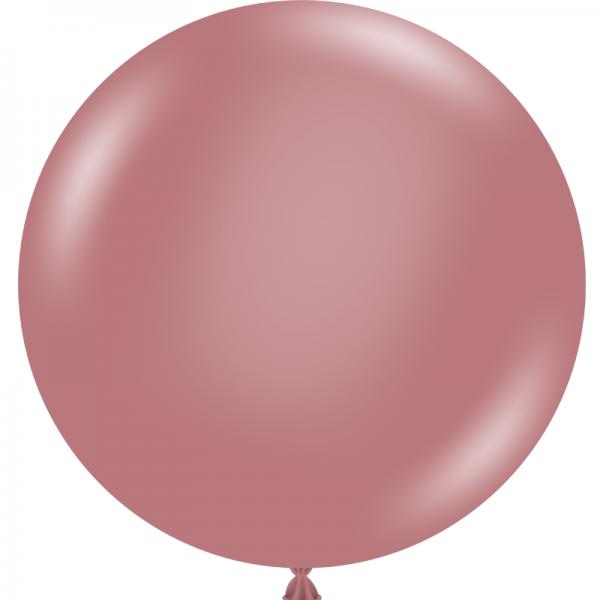 """Ballon 24"""" Canyon Rose"""