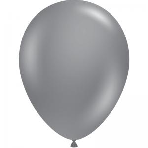 """50 Ballons 5"""" Gray Smoke"""