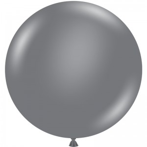 "Ballon 17"" Gray Smoke"